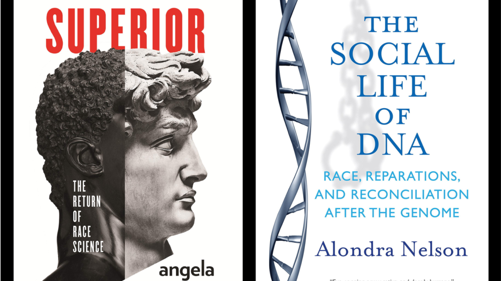 Superior and Social Life of DNA covers