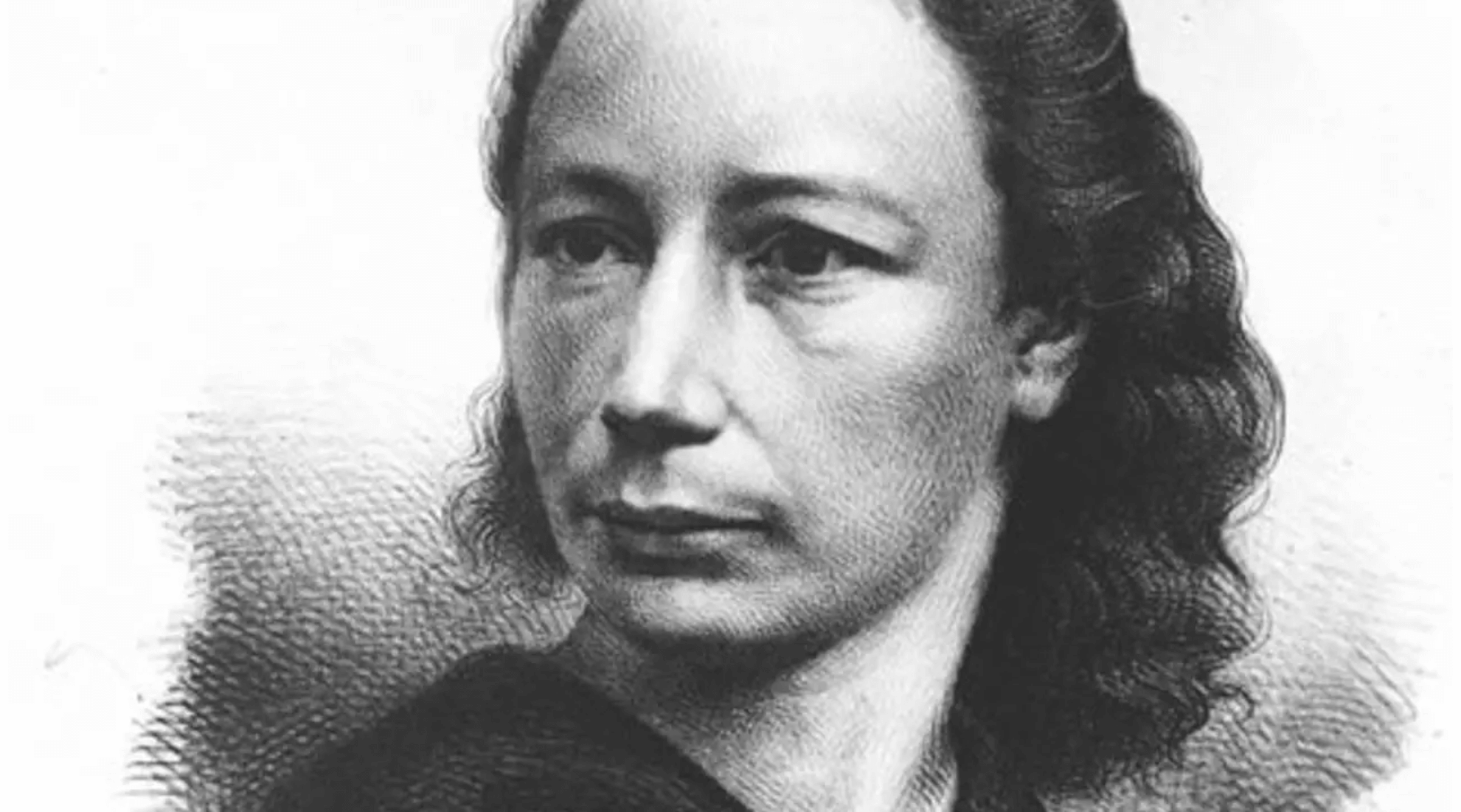 Engraving of Louise Michel by A. Néraudan (1871)
